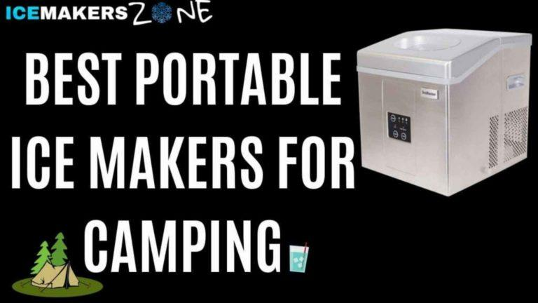 Best Portable Ice Makers for Camping