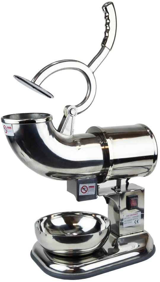 commercial block ice shaver machine