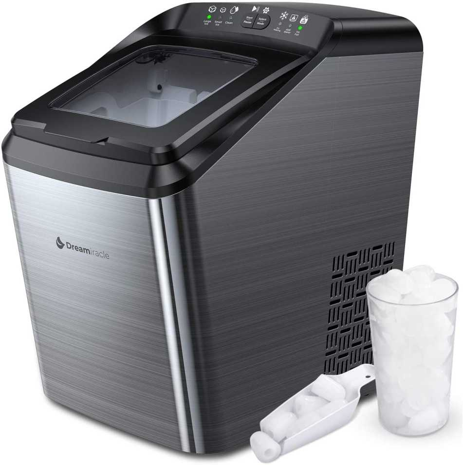 Portable Ice Maker for Freezer Compartment
